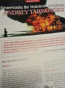Cinemascope'ta Tarkovski yazısı